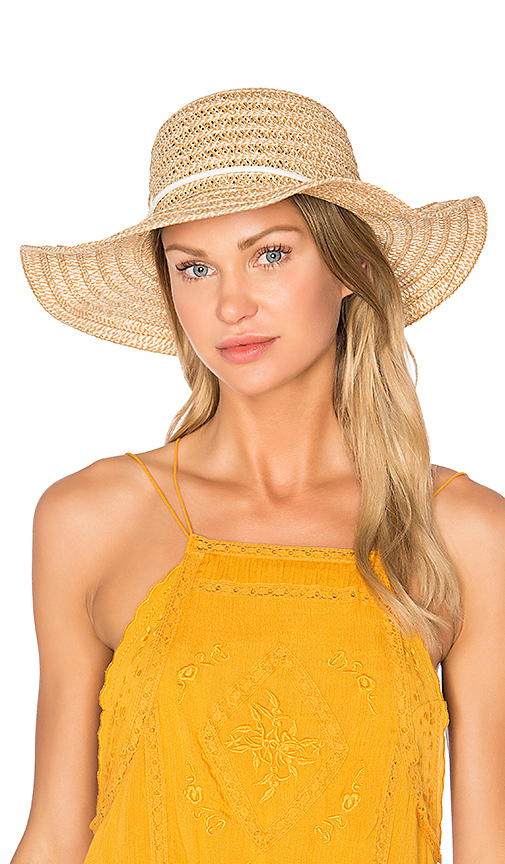 Genie by Eugenia Kim Aria Hat in Brown.