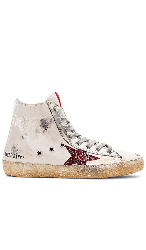 Golden Goose Francy Sneaker in Cream. - size 35 (also in 36,37,38,39,40)