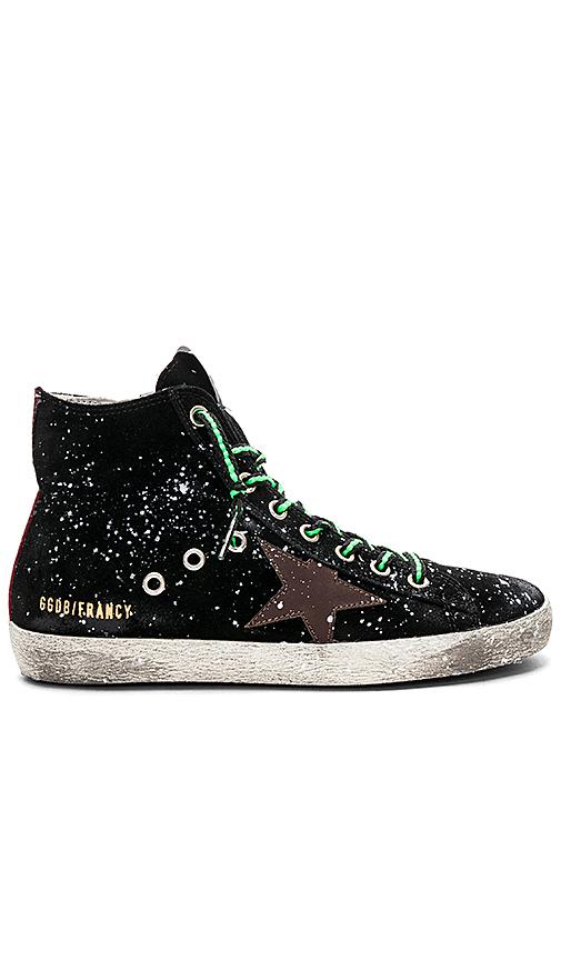 Golden Goose Francy Sneaker in Black