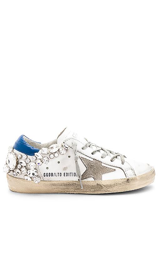 Golden Goose Superstar Sneaker in White. - size 35 (also in 36,37,38,39,40)