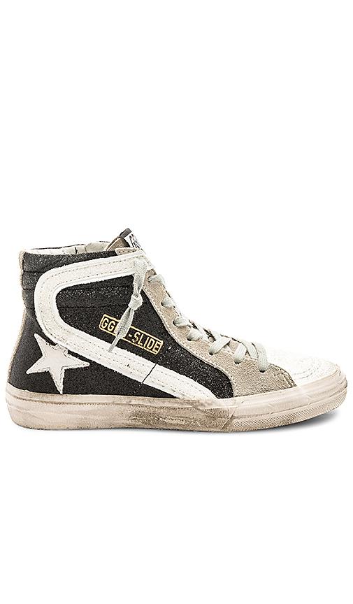 Golden Goose Slide Sneaker in Black