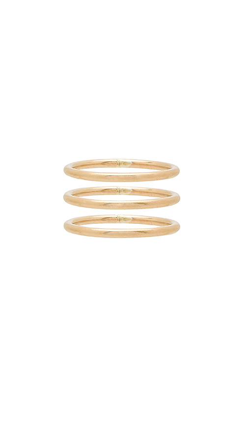 EIGHT BY GJENMI JEWELRY KARMA STACKING RINGS