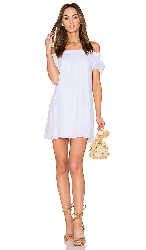 Generation Love Jodi Gauze Dress in White