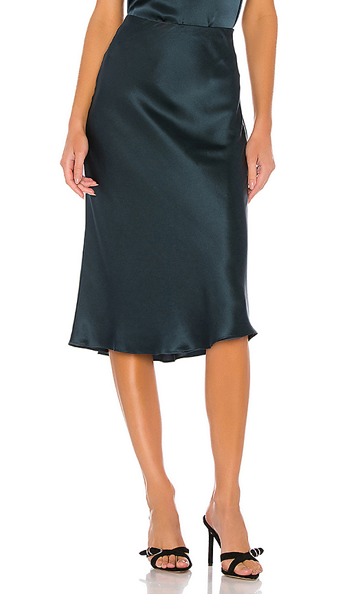 Generation Love Skirts GENERATION LOVE ASTRID SKIRT IN NAVY.