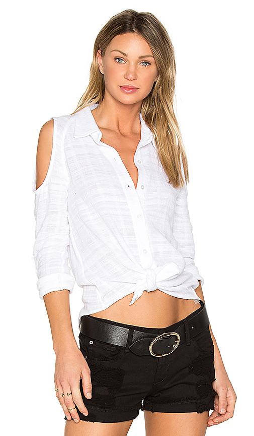 Generation Love Natalia Button Up in White