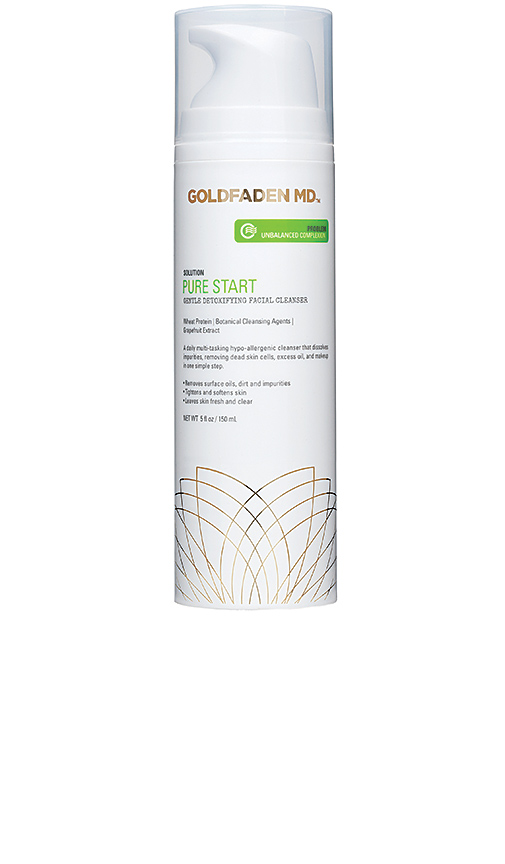Goldfaden MD Pure Start Detoxifying Facial Cleanser.