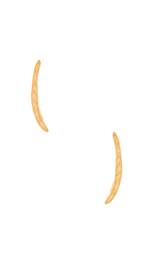 gorjana Taner Ear Climbers in Metallic Gold