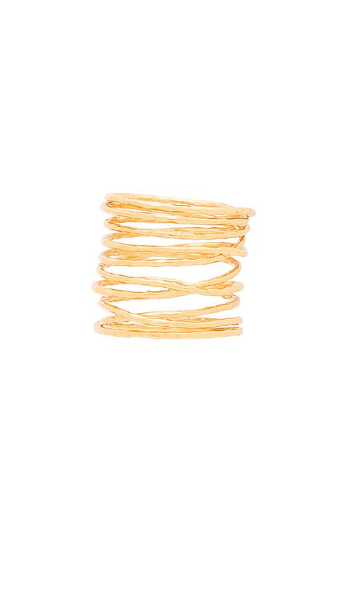 gorjana Lola Ring in Metallic Gold
