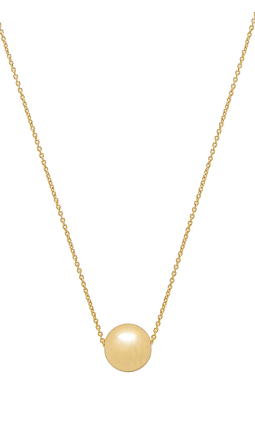 gorjana Newport Adjustable Necklace in Metallic Gold