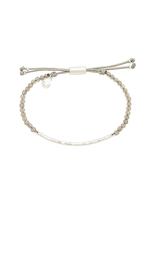 gorjana Power Gemstone Bracelet in Metallic Silver