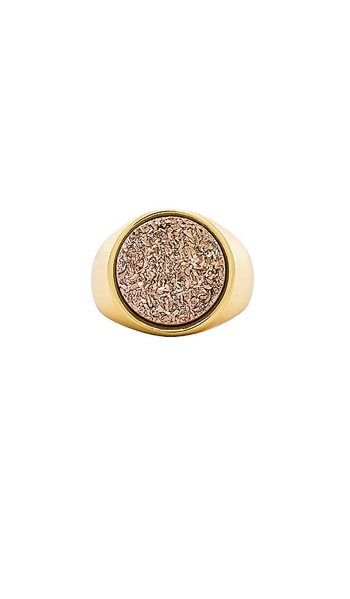 gorjana Astoria Statement Ring in Metallic Gold