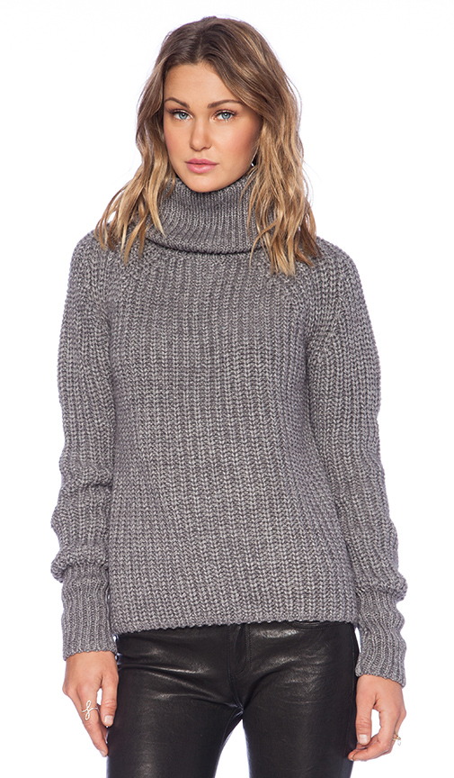 G-Star Awelis Turtle Neck Sweater in Gray