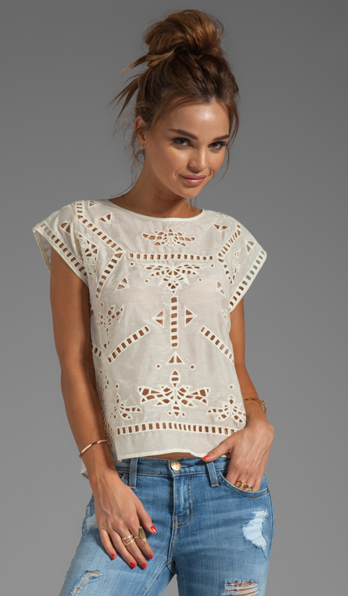 Sale alerts for Greylin Bianca Embroidered Top - Covvet