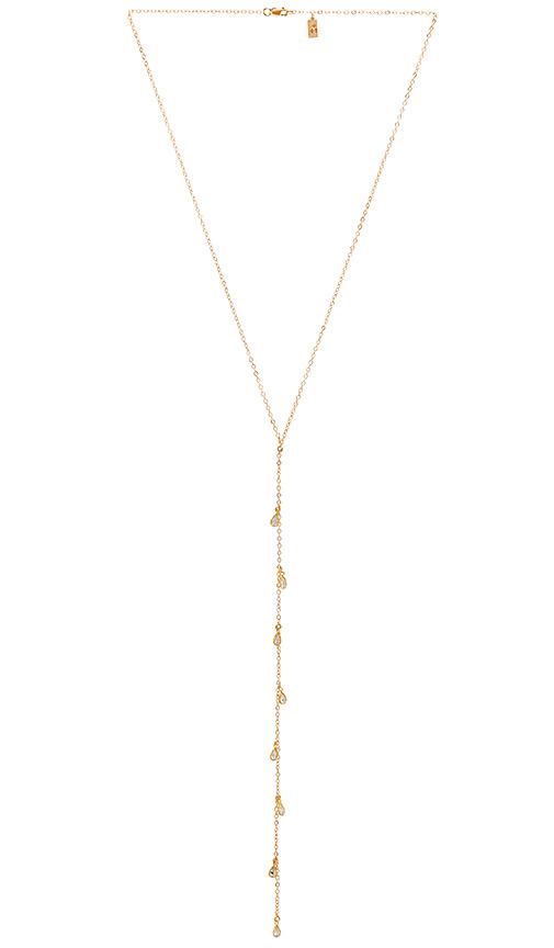Haati Chai Ivy Lariat in Metallic Gold