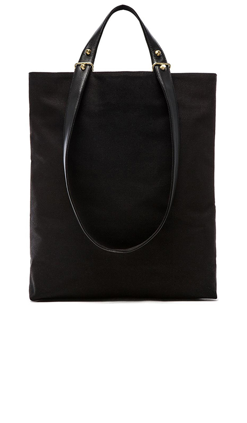 Haerfest Two Handle Tote in Black.