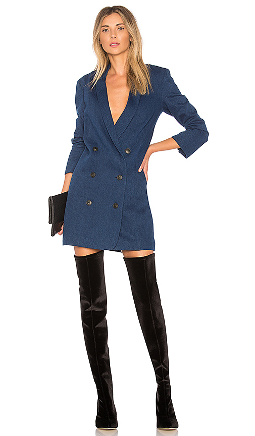 Halston Heritage Double Breasted Shirtdress