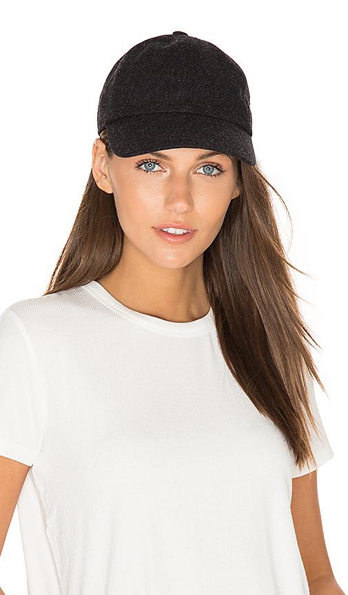 Hat Attack Baseball Cap in Black