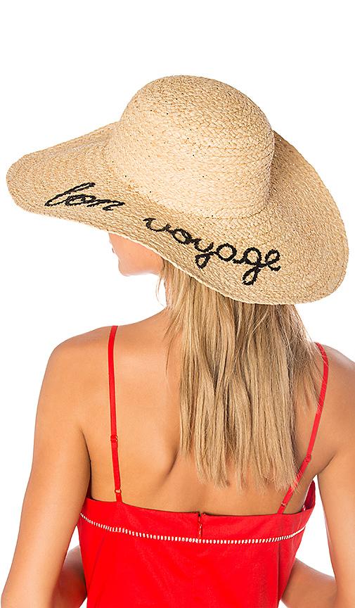 Hat Attack Bon Voyage Sunhat in Beige
