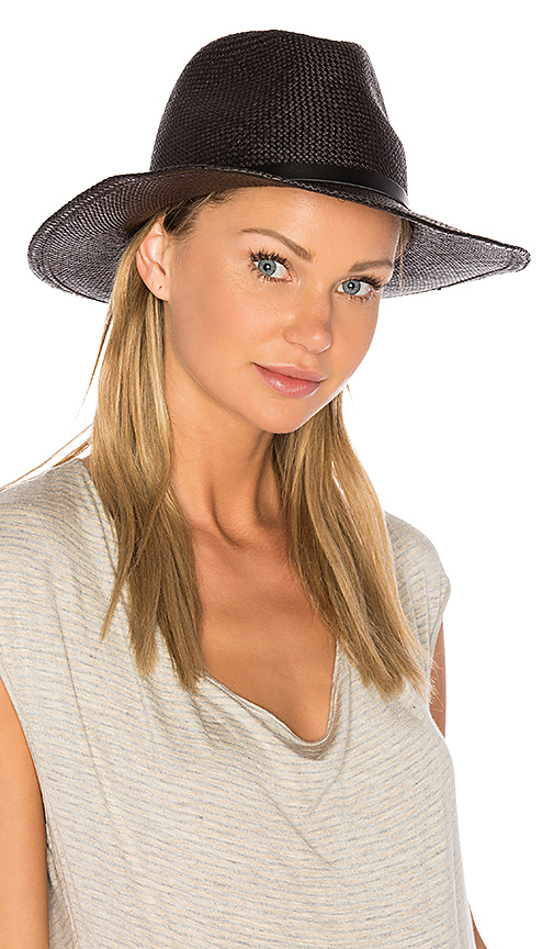 Hat Attack Continental in Black