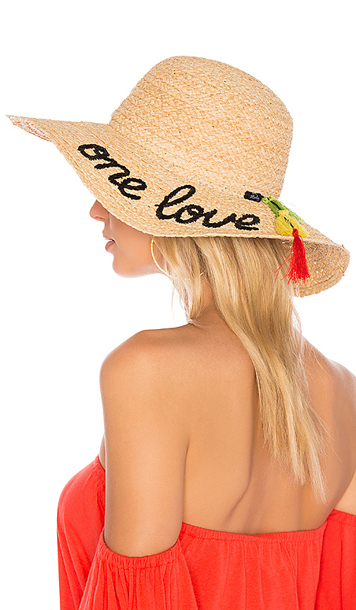 Hat Attack One Love Sunhat In Natural  f52c29337c6d