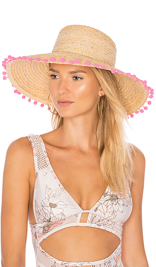 Hat Attack Raffia Braid Lampshade in Tan