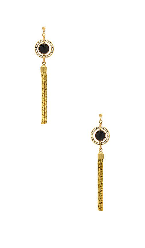 Haus Of Topper Tassel Earring in Metallic Gold
