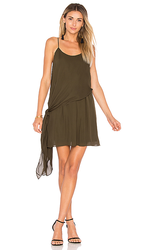 Haute Hippie The Laurel Canyon Dress in Green