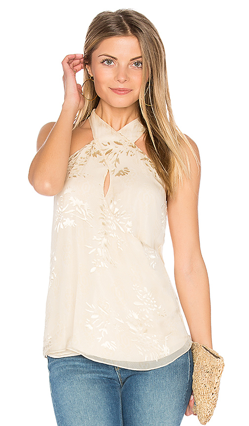 Haute Hippie Narcissus Blouse in White