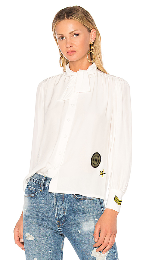 Harvey Faircloth Scout Blouse in White