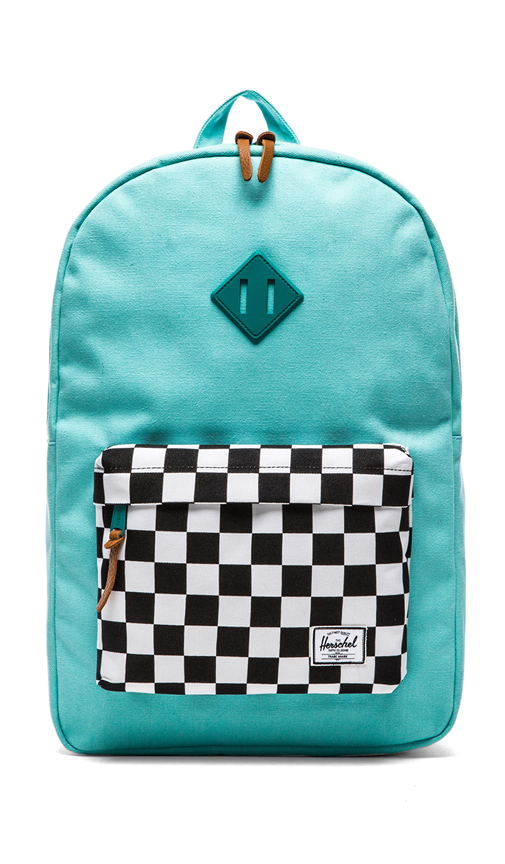 Herschel Supply Co. Heritage Canvas Collection in Teal