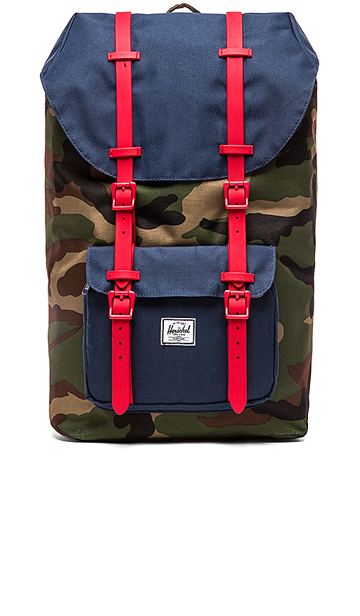 Herschel Supply Co. Little America Backpack in Red