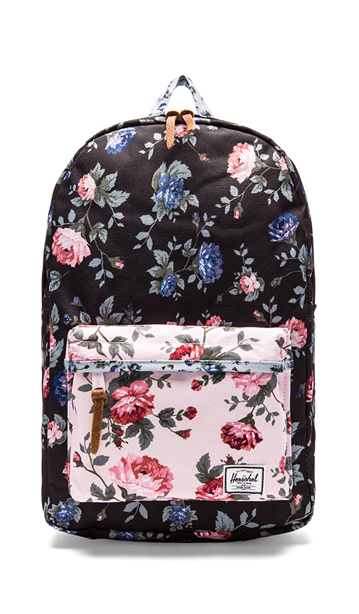 Herschel Supply Co. Fine China Collection Heritage Backpack in Black