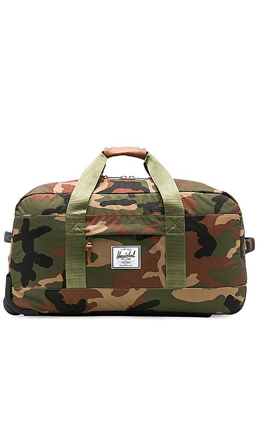 Herschel Supply Co. Wheelie Outfitter in Army.