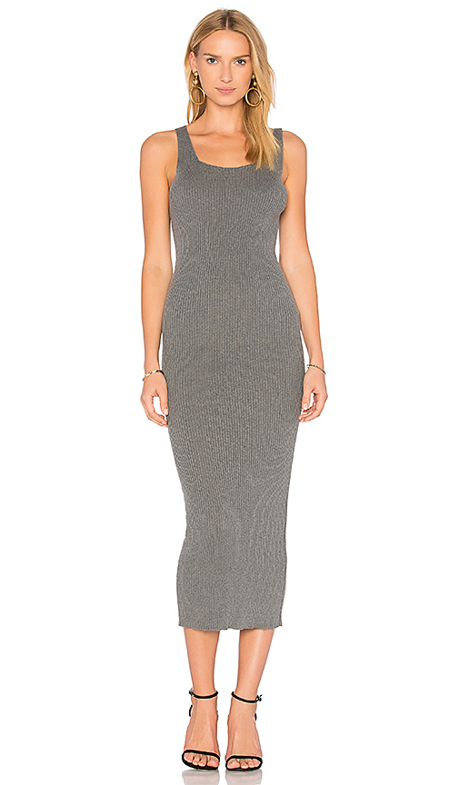 HELFRICH Cher Maxi Dress in Gray