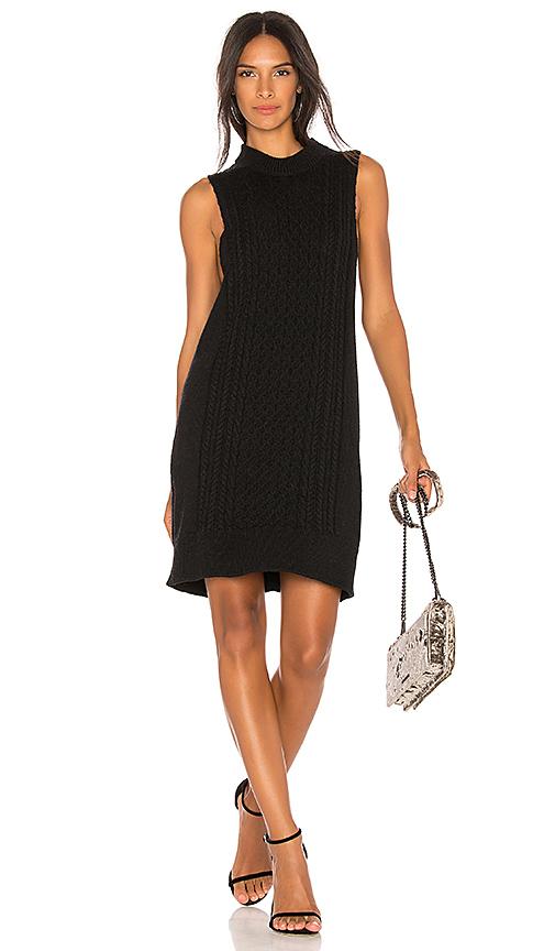 HELFRICH Stella Sweater Dress in Black