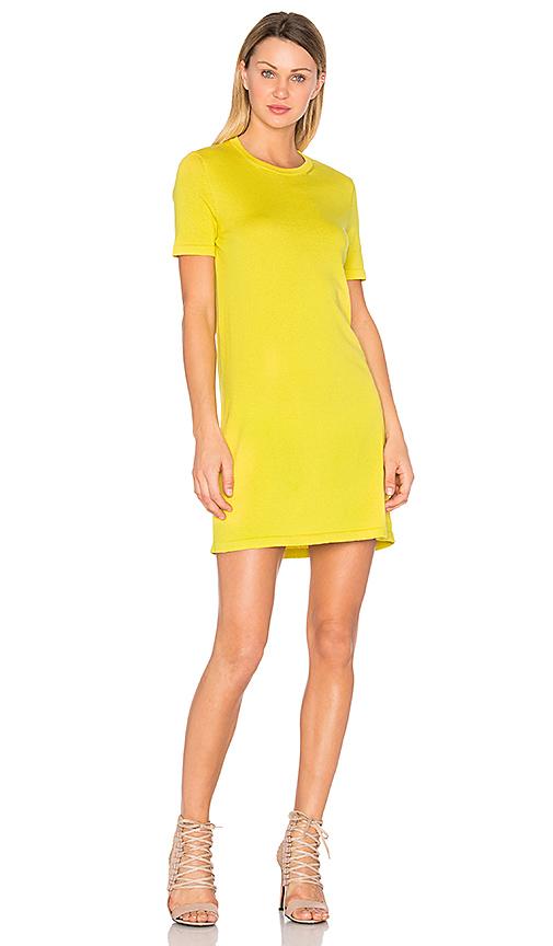 HELFRICH Lauren Mini Dress in Yellow