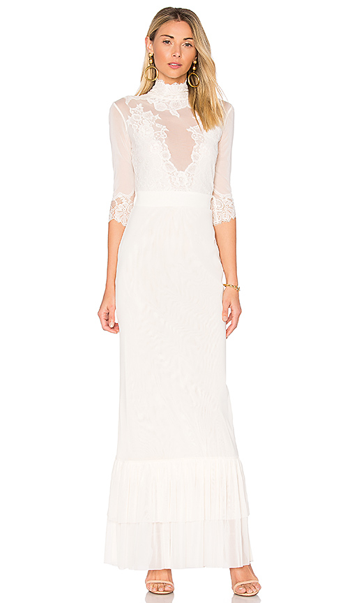 Hot As Hell Take A Bow Dress in Ivory