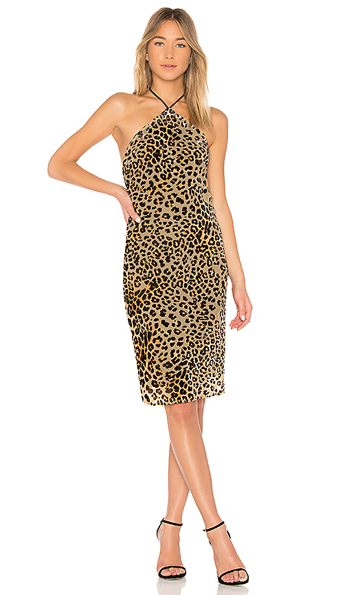 House of Harlow 1960 x REVOLVE Hadley Dress in Tan