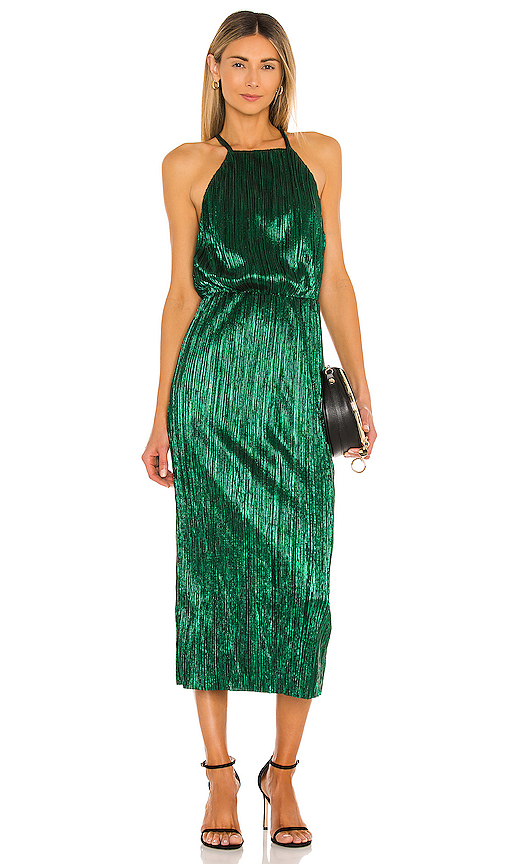 House of Harlow 1960 x REVOLVE Farrah Dress in Green. - size XS (also in S,M,XL)