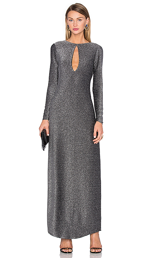 House of Harlow 1960 x REVOLVE Saha Slinky Maxi in Metallic Silver