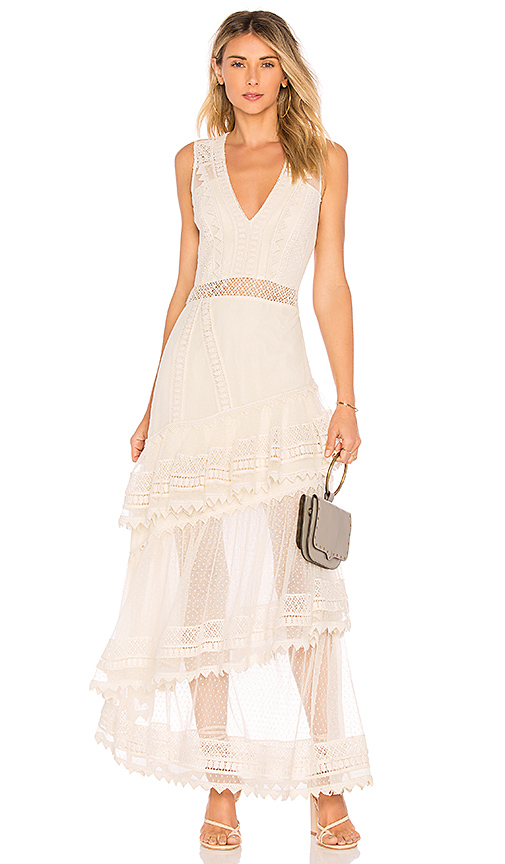 House of Harlow 1960 x REVOLVE Valence Dress in Cream. Size XXS,XS,M,L,XL.