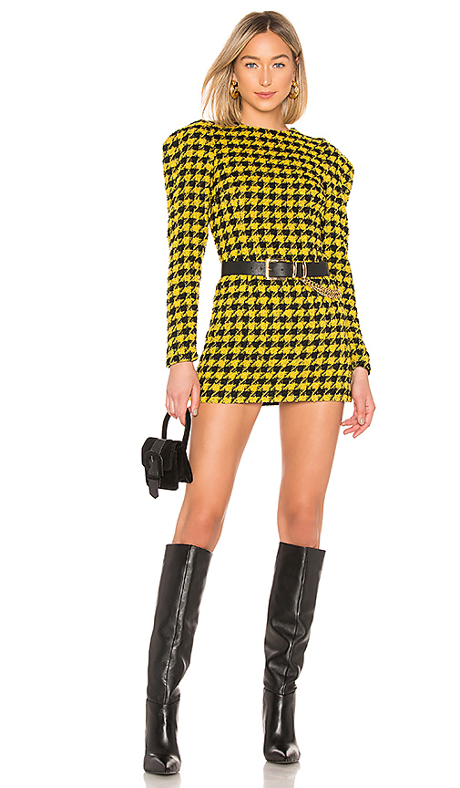 House of Harlow 1960 Loui Dress in Yellow. Size L.