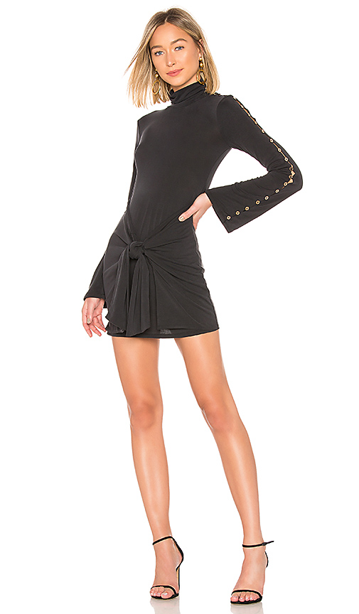 House of Harlow 1960 x REVOLVE Dolores Dress in Black. Size M,L,XL.