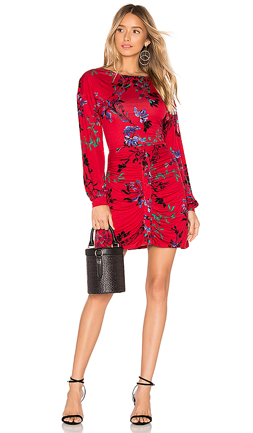 House of Harlow 1960 x REVOLVE Siri Dress in Red. Size XXS,XS.