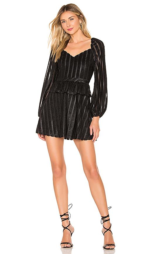 House of Harlow 1960 x REVOLVE Adelita Dress in Black. Size XS,S,M.