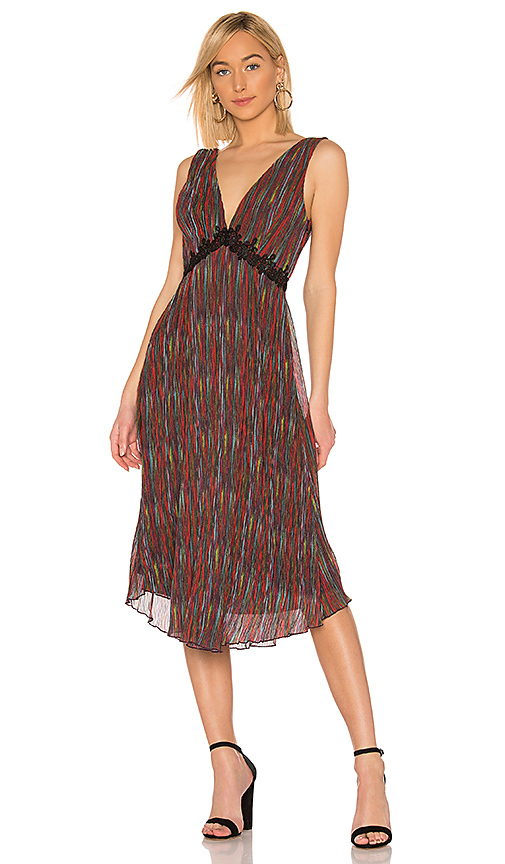 21d841bd4e House of Harlow 1960 X REVOLVE Yelena Midi Dress in Red