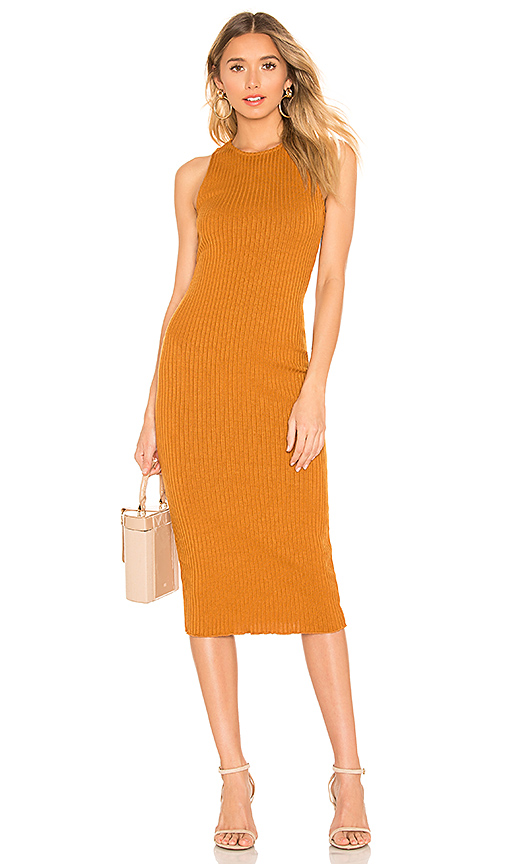 House of Harlow 1960 House of Harlow x Revolve 1960 Shannon Dress in Cognac. Size S,M,L,XL.