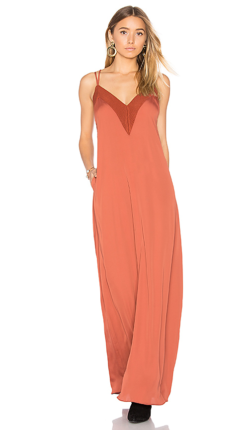 House of Harlow 1960 x REVOLVE Michelle Maxi in Rust
