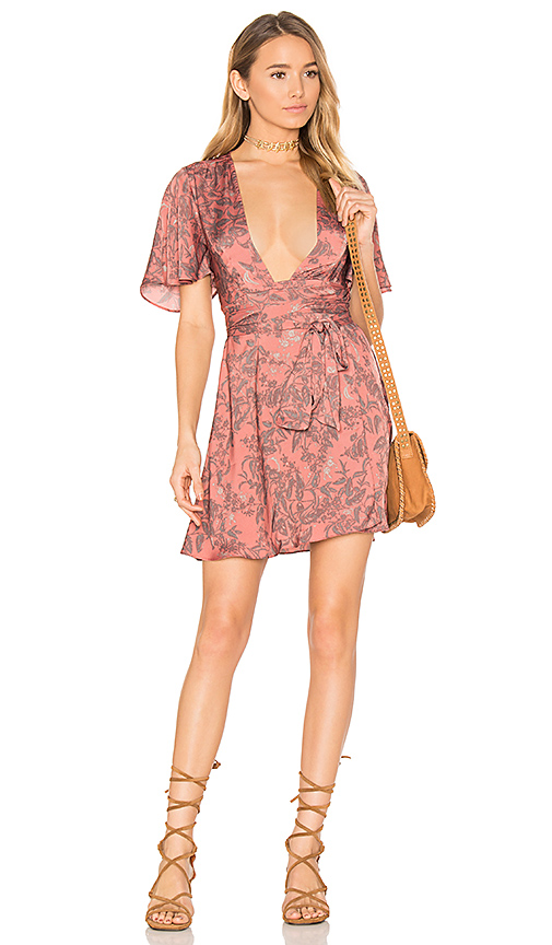 House of Harlow 1960 x REVOLVE Harper Wrap Dress in Pink