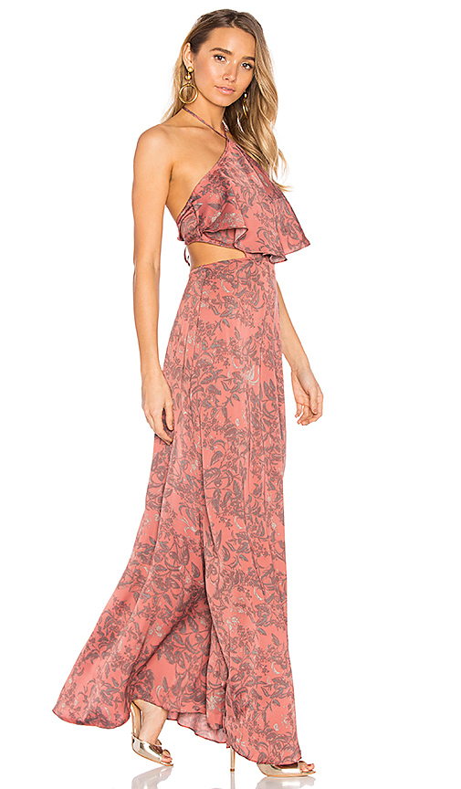House of Harlow 1960 x REVOLVE Zoe Halter Dress in Pink